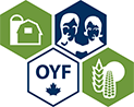 Outstanding Young Farmers Retina Logo